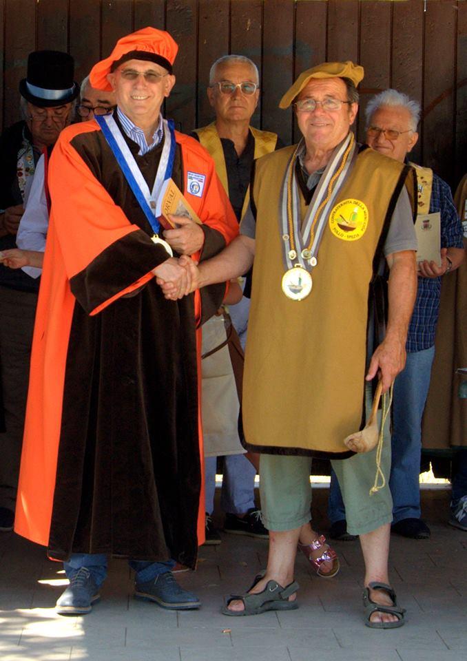 G.M.A. ricevuto dal Presidente della Confraternita MESC-CIUA